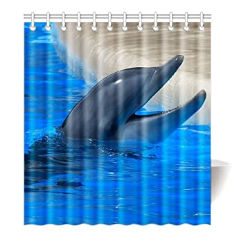 Violetpos Duschvorhang Delfin Hochwertige Qualität Badezimmer 180 X 200 Cm:  Amazon.de: Küche U0026 Haushalt