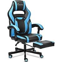 BASETBL Gaming Stuhl,PC Gamer Racing Stuhl Bürostuhl Schreibtischstuhl mit fußstützen Ergonomischer Gaming Sessel…