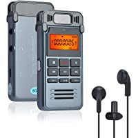 Songway Digital Voice Recorder, 8 GB Sound-Audio-Recorder-Stift, Mini-Audio-Recorder mit USB-Aufladung, MP3-Player/AB…
