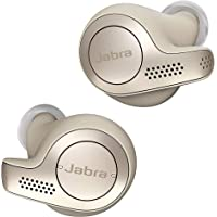 Jabra Elite 65t - True Wireless In-ear Kopfhörer mit Passive Noise Cancellation - Mit 4 Mikrofon-Technologie - gold…