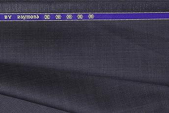 Raymond Men's Suit Fabric (Blue and Grey, 3m)