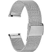 Fullmosa Cinturino per Orologio 18mm, Cinturini in Acciaio Inossidabile di Ricambio Compatibile con Orologi ASUS…