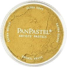 Colorfin PanPastel Ultra Soft Metallic Artist Pastels, 9ml, Light Gold