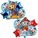 Globos Paw Dog Patrol, Globos Dibujos Animados Globos de Papel de Aluminio,feliz cumpleaños Globos,Helio está Permitido,Decor