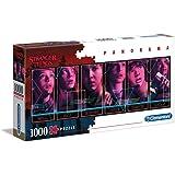 Clementoni Stranger Things-1000 pièces Netflix-Puzzle Adulte-fabriqué en Italie, 39548, No Color
