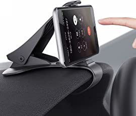 KolorFish Dashboard Anti Skid Car Mobile Holder, Universal Anti Skid Dashboard Car Mobile Holder Cradle Stand for Cell Phones up to 6.5''