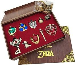 FUMAN The Legend of Zelda Kette Schlüsselanhänger Dekoration Geschenk 10 Stück Set