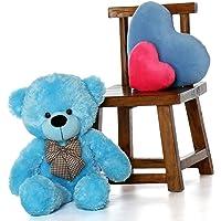 Buttercup Teddy Bear Stuffed Animal - 2 Feet (60 cm, Blue)