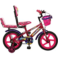 Ollmii Geo14 Pink Kids Cycle for Boys and Girls 3 to 5 Years