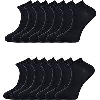 14 Pairs Mens Sneaker Socks Ankle Socks Trainer Socks Breathable Sports Low Cut Socks Running Socks for Casual and…