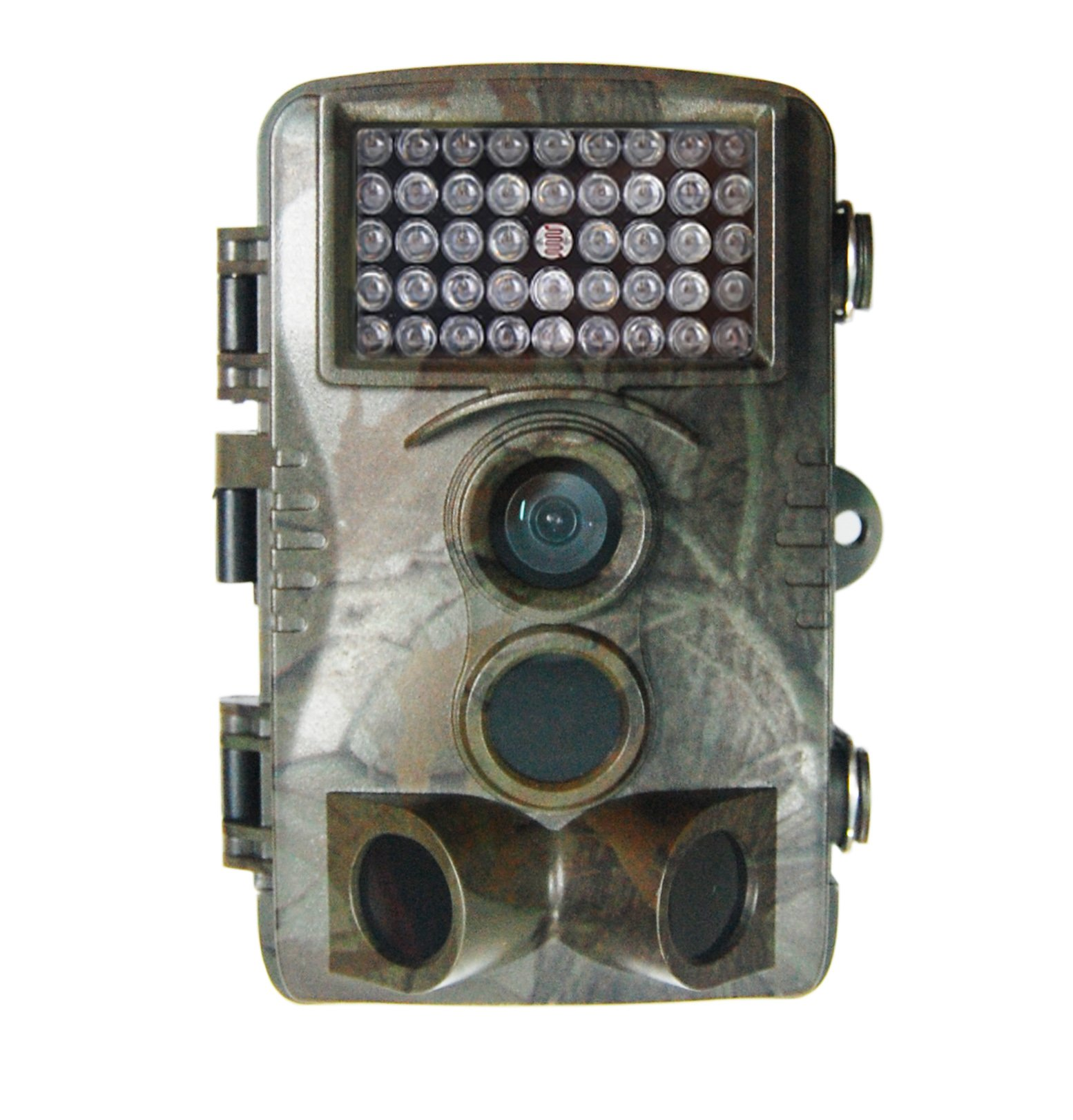 Konetun 2.4 Inch Screen 12 Megapixel (12 MP) 1080P HD 120 degree Wide Angle IP54 Waterproof Hunting Wildlife Trail Game Camera Surveillance Camera with 42 Pcs IR LEDs for Night Vision