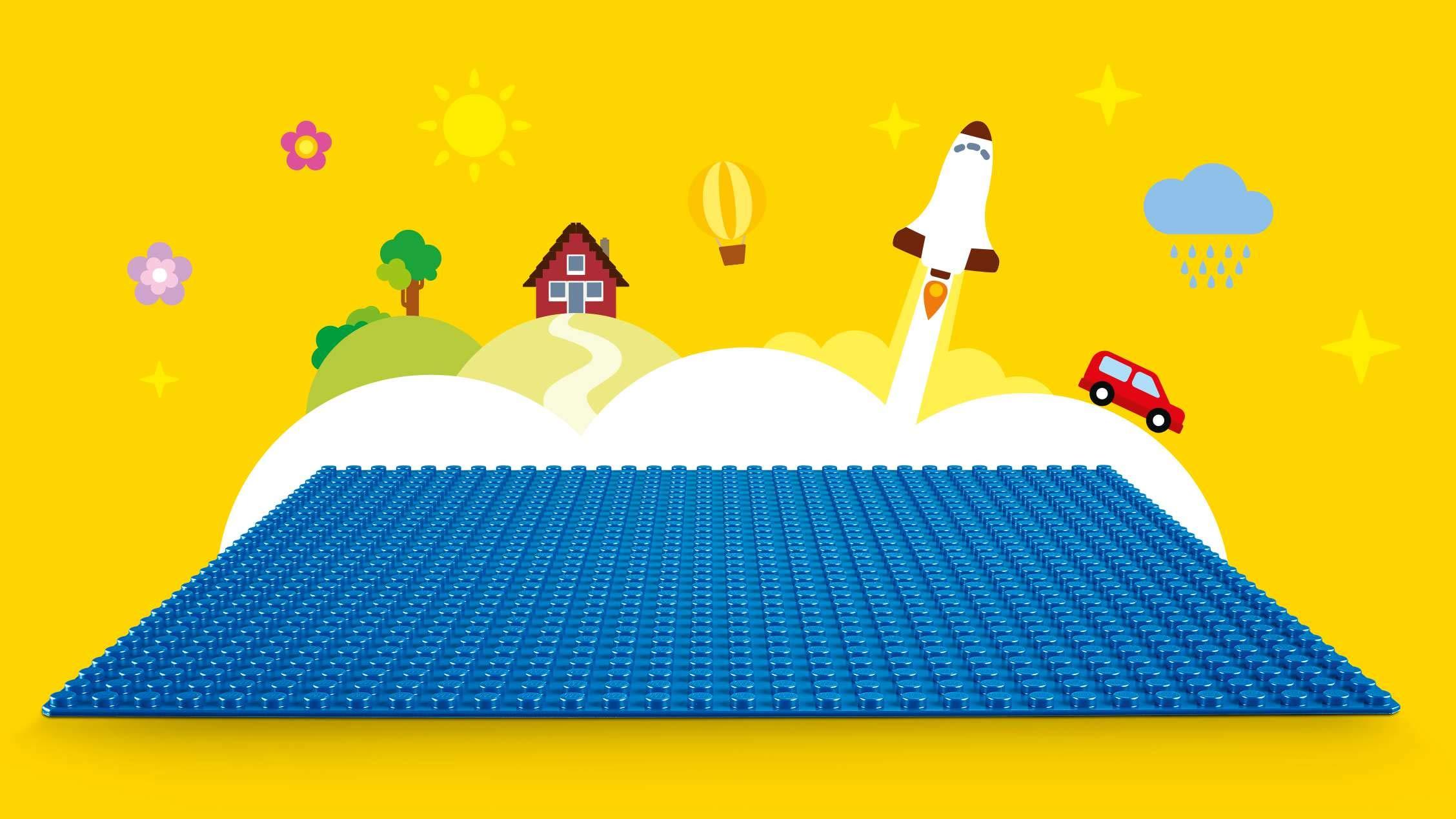 LEGO UK 10714 Classic Blue Baseplate Creative Play