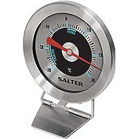 Salter Thermomètre Analogique Pour Réfrigérateur et Congélateur | -30°C à +30°C, Aliments Maintenus au Frais, Inox…