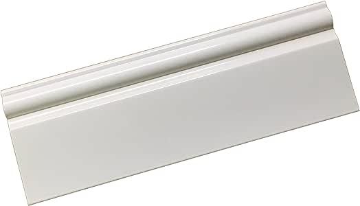 White PVC Taurus Skirting Board Plastic 95mm x 2.5m ...