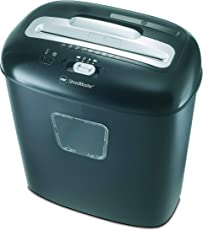 GBC Duo Paper/CD/Credit Card Cross Cut Shredder with 10 Sheet Capacity and 17 L Bin