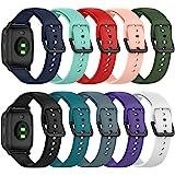 Chofit Armband compatibel met Garmin Venu Sq Music/Venu Sq Straps, 20 mm snelspanner-reserveband, zachte siliconen, sportarmb