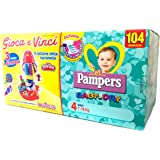 Pampers Pannolini Baby Dry 4 Maxi Quadripacco