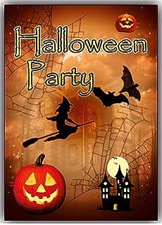 Halloween Kindergeburtstag.Halloween Einladungskarten Kindergeburtstag Jungen Madchen