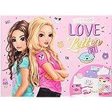 Depesche- Love Letter Set, Top Model, con Muchos Accesorios para Manualidades, Aprox. 26 x 19,5 x 3,5 cm (11148)