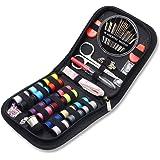 Kit de couture de voyage, AUERVO 70 fournitures de couture de qualité supérieure, mini kit de couture pour la maison, les voy