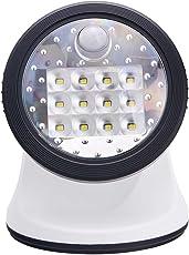 Fulcrum 20034-108 Wireless 12 LED Porch Light (White)