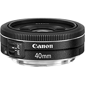 Canon EF 40mm f/2.8 STM Prime Lens for Canon DSLR Camera
