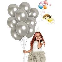 JIASHA 100 Pièces Ballons Anniversaire, Ballon Latex de pailleté Ballons Baudruche pour Mariage, Anniversaire, Baby…