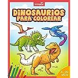 Dinosaurios para colorear: Mi gran libro de dinosaurios para colorear. Imágenes únicas e interesantes datos de los dinosaurio