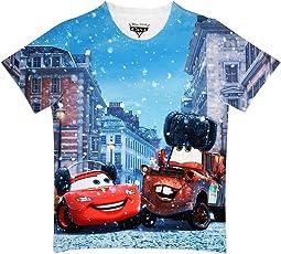 Cars Boy's Polyester T-Shirt