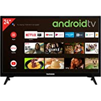 Telefunken XH24AJ600V 24 Zoll Fernseher / Android TV (HD ready, HDR, Triple-Tuner, 12 Volt, Smart TV, Play Store, Google…