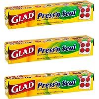 Glad Press'N Seal Food Wrap 70Sq.Ft Pack (3) by Glad