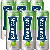 Barbican Refreshing Apple Flavour with Taste Non-Alcoholic Malt Drink Beer Cans (250 ml) -Pack of 6