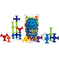 Fat Brain Toys Squigz, Multi Color (24 Pieces)