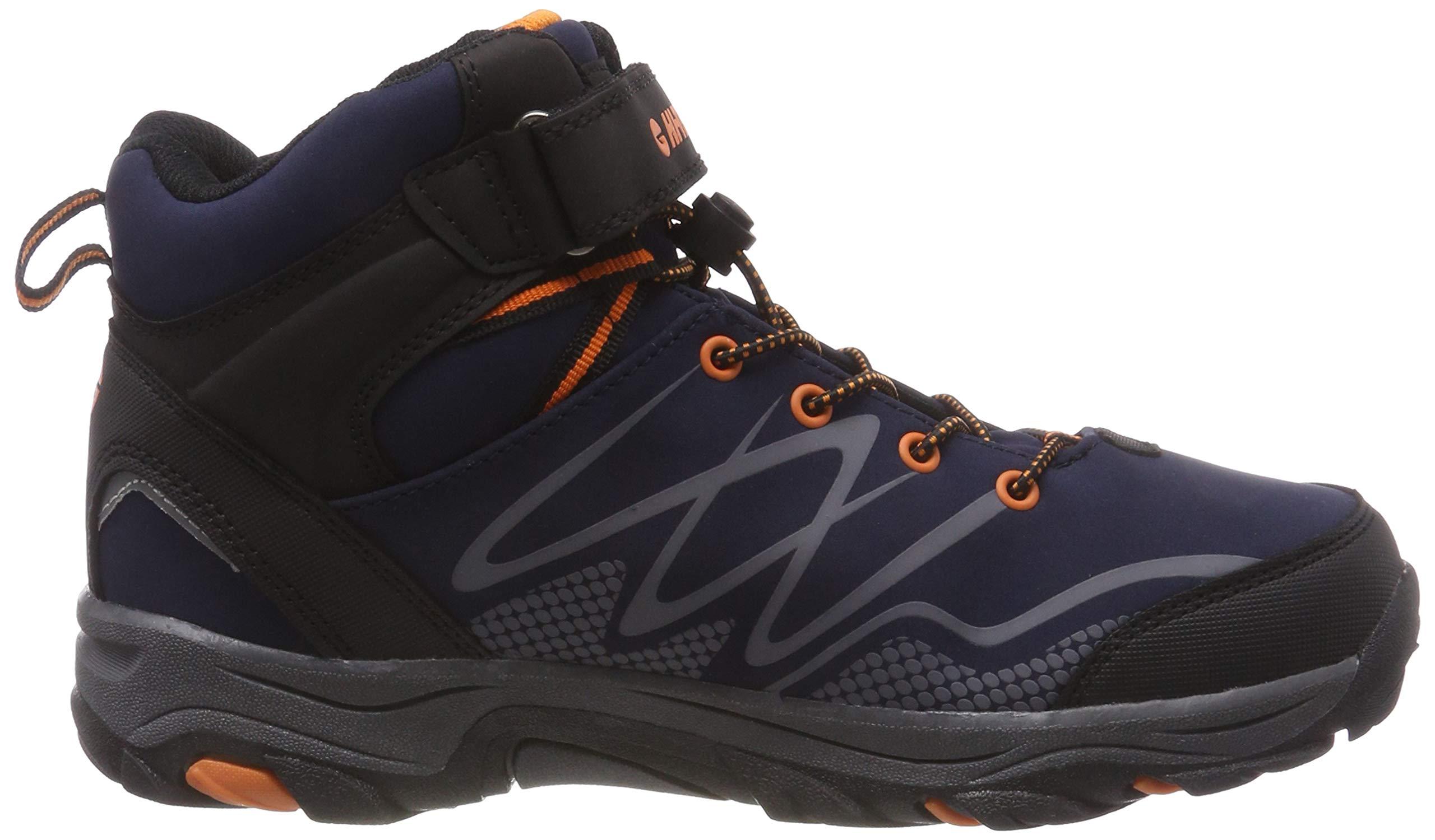 Hi-Tec Unisex Kids' Blackout Mid Wp Jr High Rise Hiking Boots 6