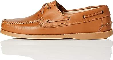 find. - Amz038_Leather, Scarpe da Barca Uomo