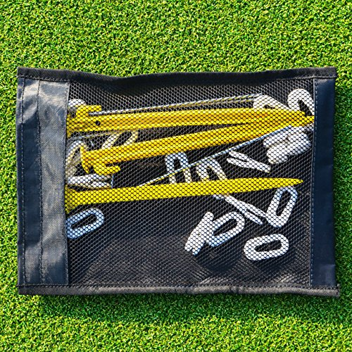 Football Goal Net Pegs  20 Pack   Metal      Strongest Steel Pegs To Secure Your Goal Nets  Net World Sports
