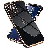 Lafunda kompatibel mit iPhone 11(6,1 Zoll) Handyhülle Mädchen Liebesherz Silikonhülle weich TPU Hülle Ultra dünn Stoßfeste Sc