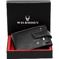 WildHorn Black Leather Men's Wallet (WH2066A BLACK)