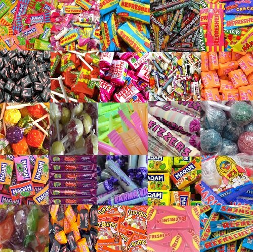 200 Mixed Party Bag Fillers Sweets Halloween Pass the Parcel Pinatta