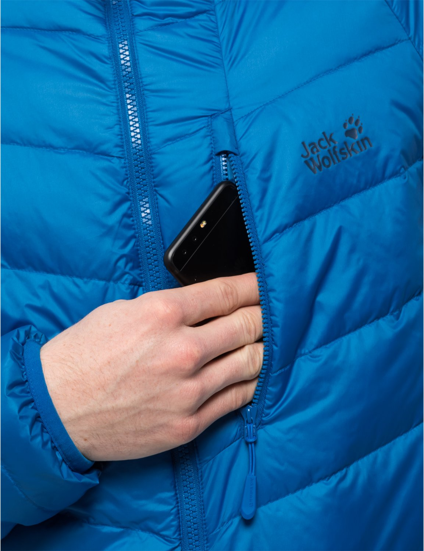 71ri%2B1aJZ6L - Jack Wolfskin Men's Neon Daunenjacke Winddicht Wasserabweisend Atmungsaktiv Down Jacket