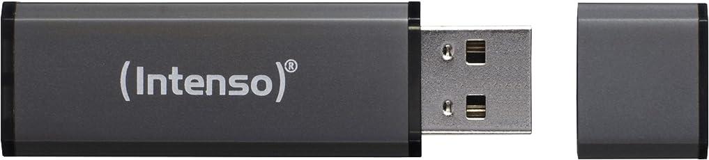 Intenso Alu Line 64 GB USB-Stick USB 2.0 anthrazit