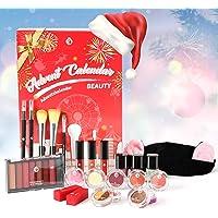 Beauty Adventskalender 2021 mit Exquisite Kosmetik Geschenk 24 Tollen Beautyprodukten für Frauen Teenager Mädchen Für…