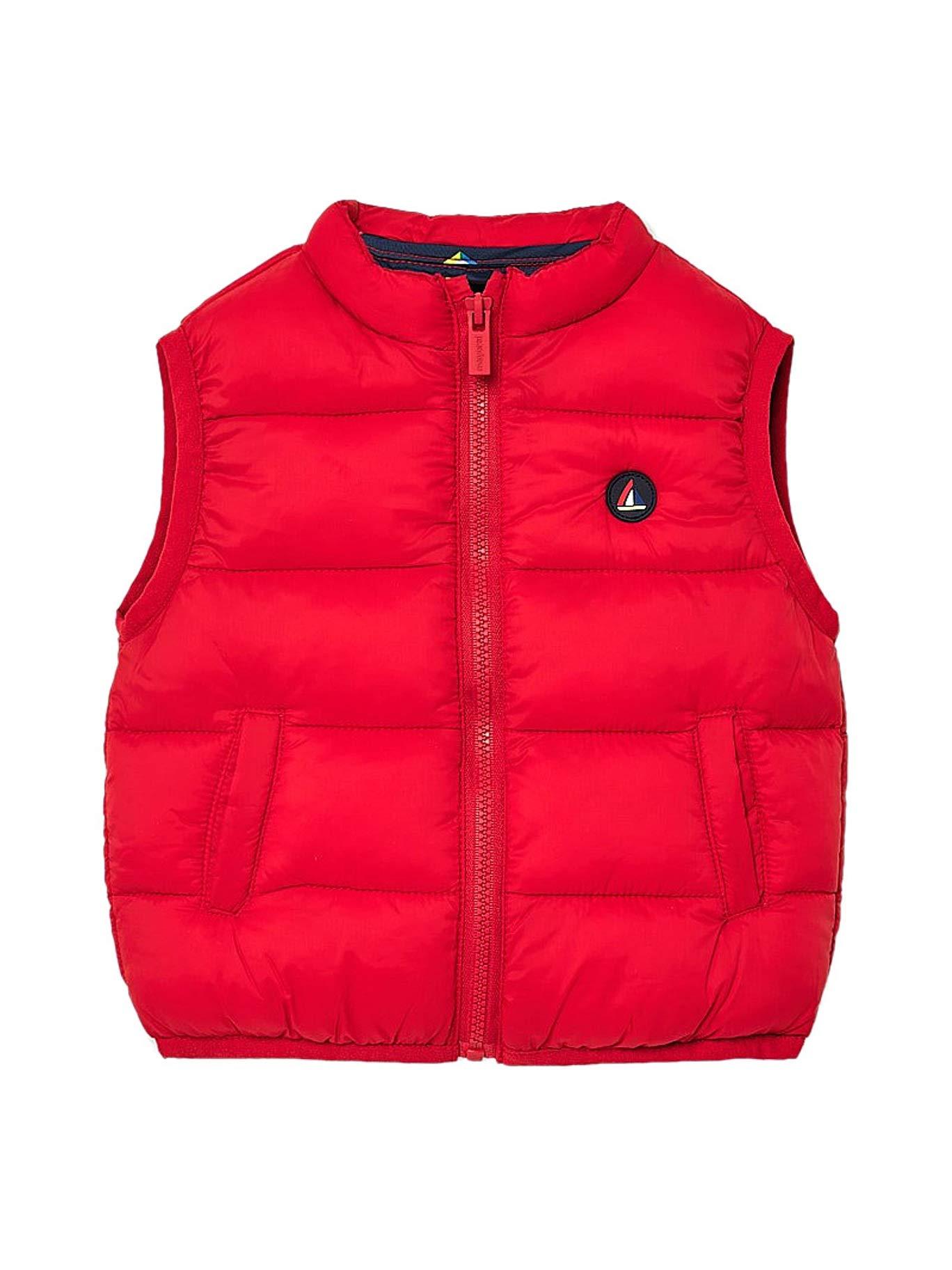 Mayoral, Chaleco para bebé niño - 1466, Rojo 1