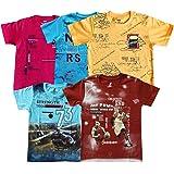 YelloWear Boy's Printed T-Shirts