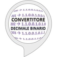 Converti numero da decimale a binario