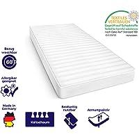 Mister Sandman orthopädische 7-Zonen-Matratze für besseren Schlaf- Kaltschaummatratze H2/H3 mit ergonomischen Liegezonen, Höhe 15cm