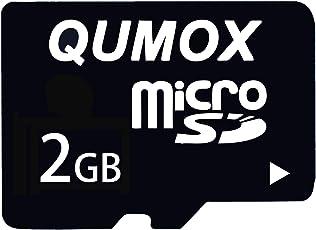 QUMOX 2GB Micro SD MicroSD Veloce Memoria Carta TF