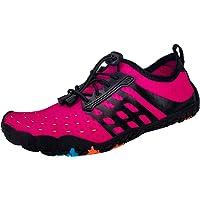 Ansbowey Chaussures Aquatiques Homme Femme Chaussures d'eau Chaussures de Plage Séchage Rapide Chaussures de Yoga…