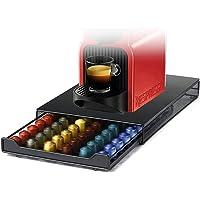 HiveNets Nespresso Capsule Support Café Pod Tiroir Métal Stockage pour 60 Pcs