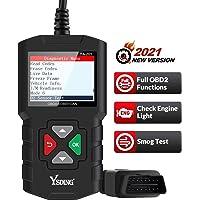Ysding OBD2 Diagnosegerät OBD Code-Scanner-Fahrzeug-Fehlercodeleser arbeitet an Allen Autos mit OBD2 / EOBD/CAN-Modi und…